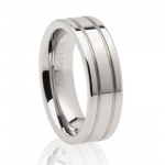double-groove-tungsten-mens-wedding-ring