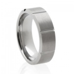 matte-sectioned-tungsten-mens-wedding-ring